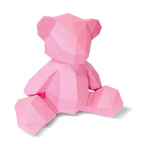 🇫🇷 Ourson en papier 3D - Agent Paper