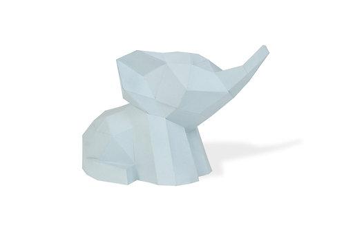 🇫🇷 Trophée Babies éléphant - Agent Paper