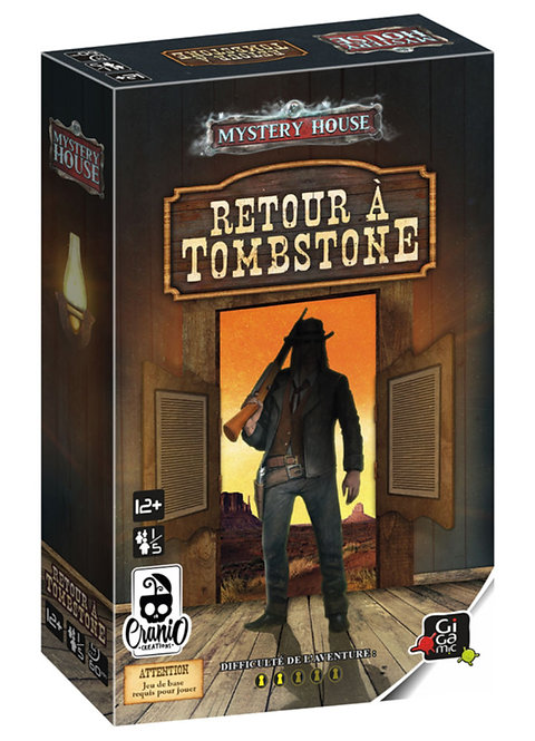 Retour à Tombstone - extension Mystery house