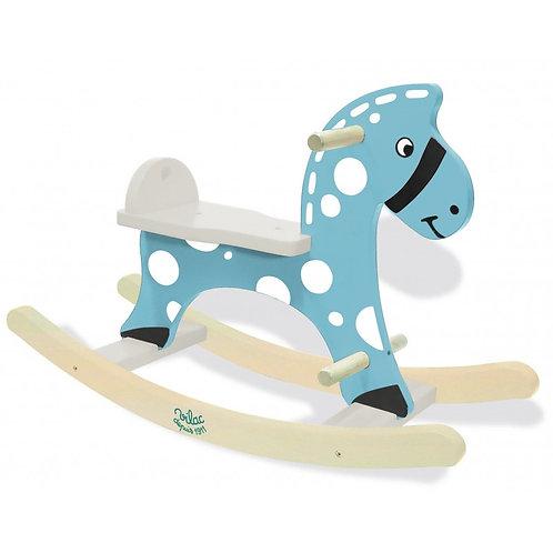 Cheval à bascule bleu - Vilac
