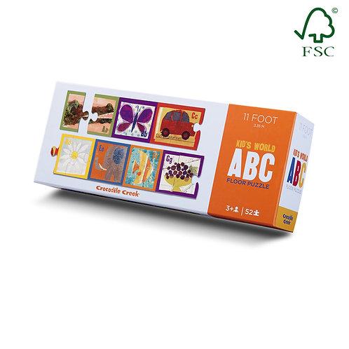 Puzzle ABC english - Crocodile Creek