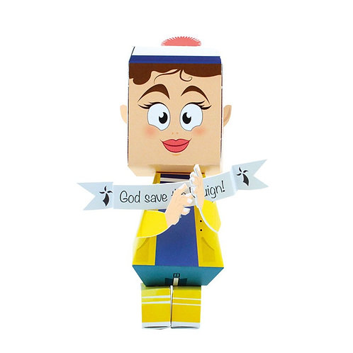 🇫🇷 Papertoy Marin - Agent Paper
