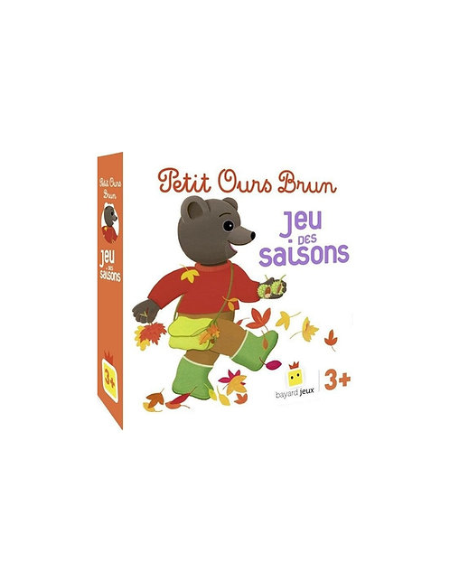 Jeu des saison Petit Ours Brun - Bayard