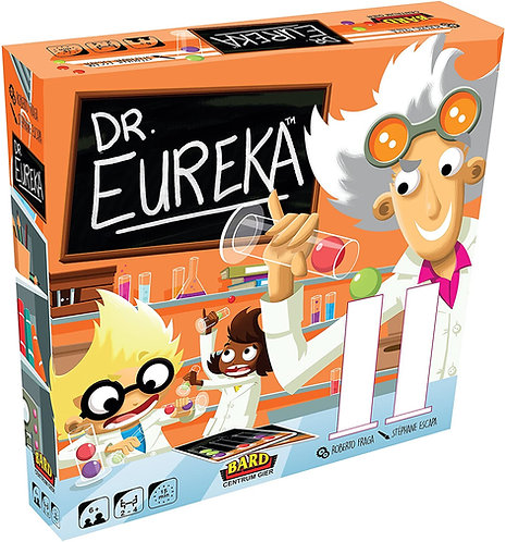Dr. Eureka - Blue orange