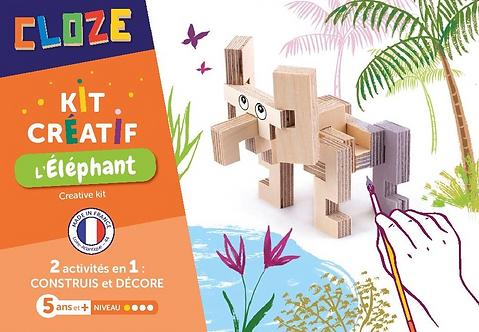🇫🇷 L' Eléphant - Cloze