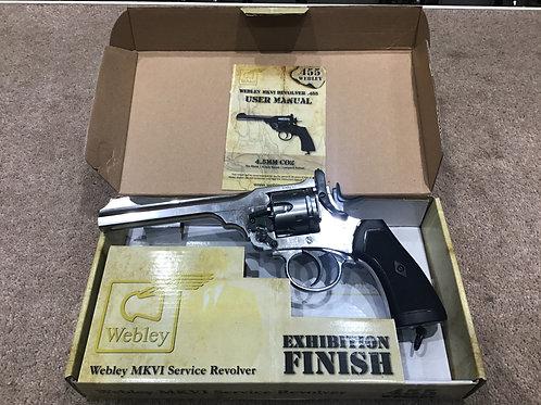 Webley MKVI .455 Service Revolver .177