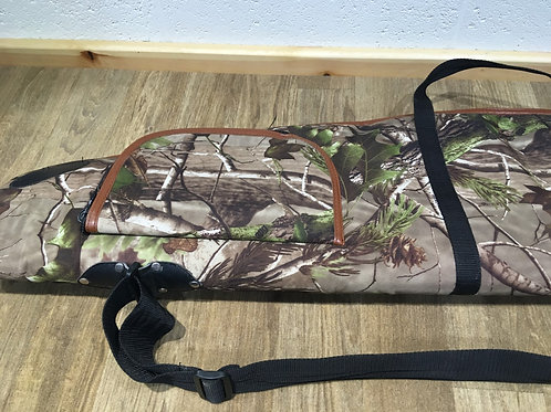 Realtree style camo gun bag