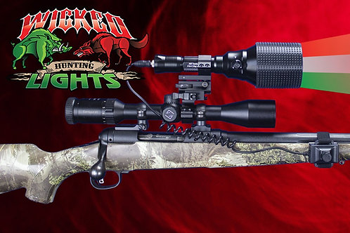 WICKED LIGHTS A67IC PREDATOR GUN LIGHT KIT (NEW)