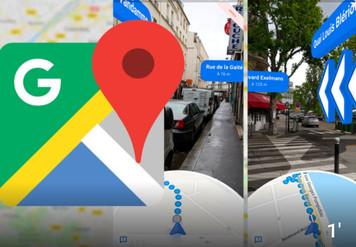 Google Maps : la navigation en réalité augmentée débarque sur tous les smartphone.