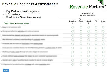 Revenue Readiness Assessment