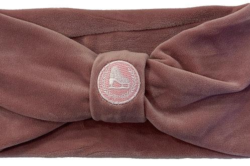 Mauve Velour Headband