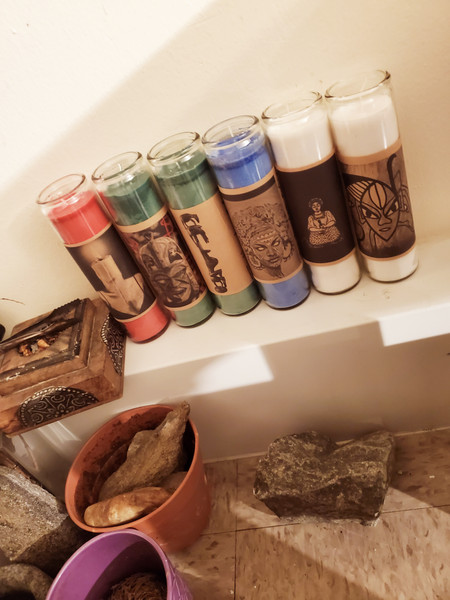 The Hoodoo Cabin Fixed Candle Collection