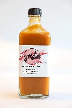 Habanero Roasted Garlic Bourbon Hot Sauce