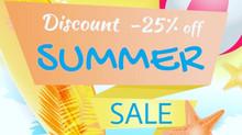 25% Summer Sale