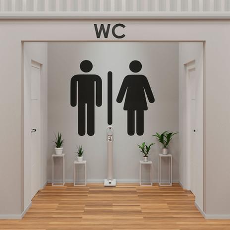 PISA banheiro branco