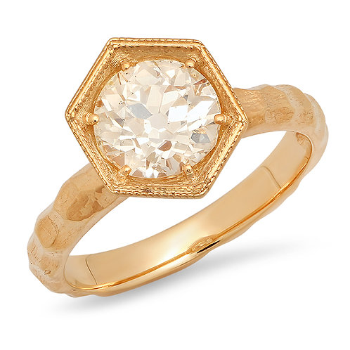 Florence Engagement Ring Hexagon