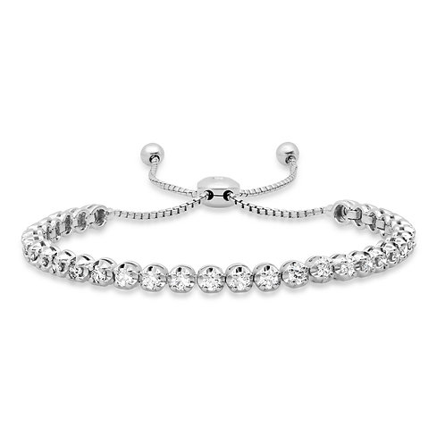 Illusion Tennis Bracelet