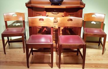 Stuhlgruppe-Riemerschmid