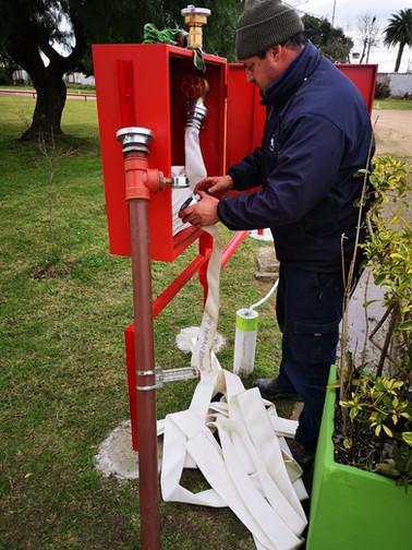 Prueba de Instalación de Red Hidráulica