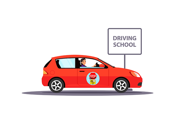 Stop Stalling Driving School Car