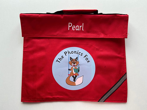 The Phonics Fox Personalised Book Bag