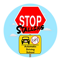 Stop Stalling Automatic Driving School Logo