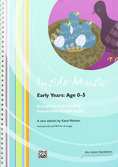 Inside Music Early Years Age 0-5 Book Cover