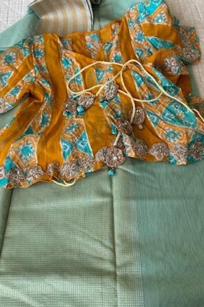 Rajasthani wrap blouse