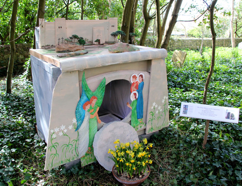 The Easter Garden St Peter's E Blatching