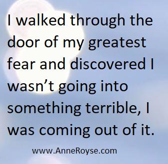 Walking through Fear