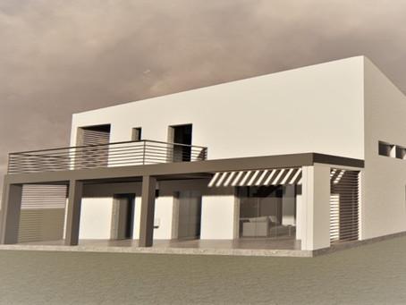 Permis obtenu villa en R+1 (secteur ABF)