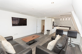 Open plan living space