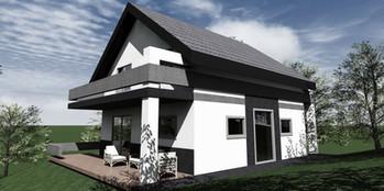 Dom jednorodzinny - Liszna