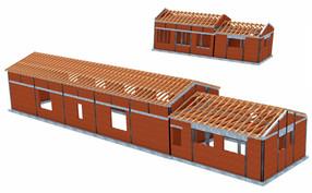 2 budynki usługowe - Skrzeszew