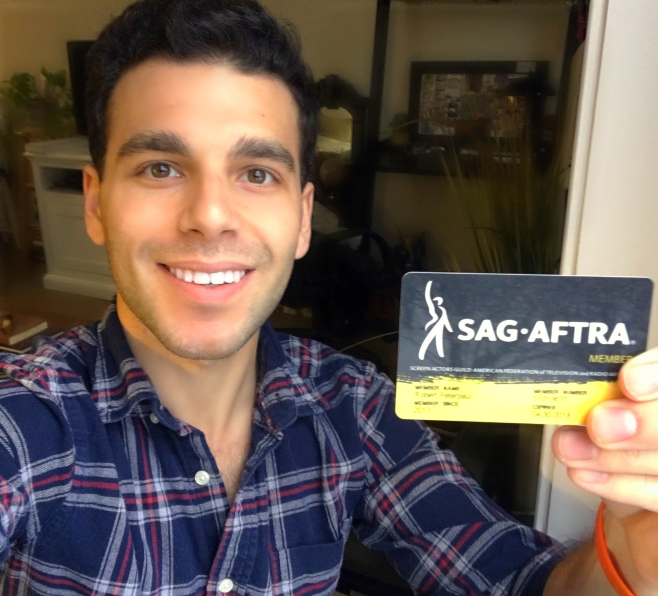 Officially SAG-AFTRA!