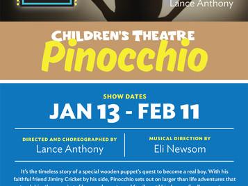 """ROBERT STARS IN """"PINOCCHIO"""""""