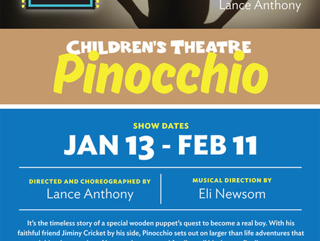 "ROBERT STARS IN ""PINOCCHIO"""