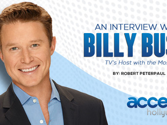 BILLY BUSH: TV's Host with the Most.