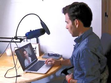 Robert talks The Art of Kindness podcast on News 12