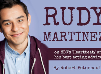NBC's RUDY MARTINEZ Gives His Best Acting Advice.