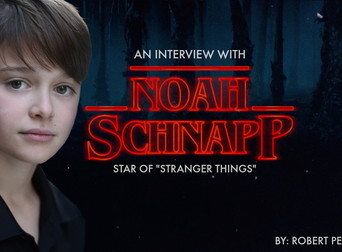 NOAH SCHNAPP on 'Stranger Things' Season 2, Acting Advice & What's Next.