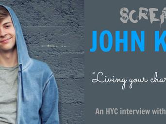 """JOHN KARNA on """"Living Your Character's Dream."""""""