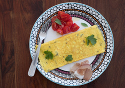 DSCF4367 Cooked breakfast on tribal Afri