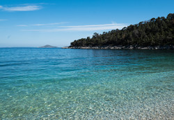 Beach at Leftos Gialos