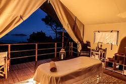 Spa Treatment Safari Tent