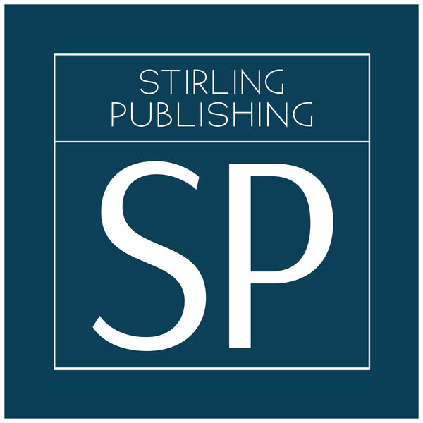 The Stirling Publshng SP logo (a dark teal colour with sans serif writing within a white square border)