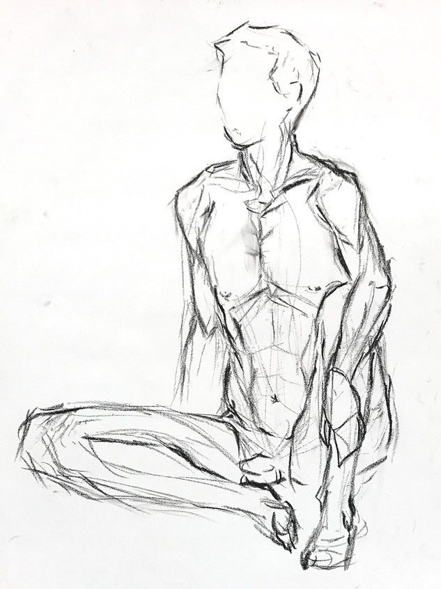 Life Drawing - 10 minutes