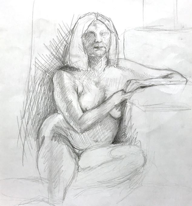 Life Drawing - 30 minutes