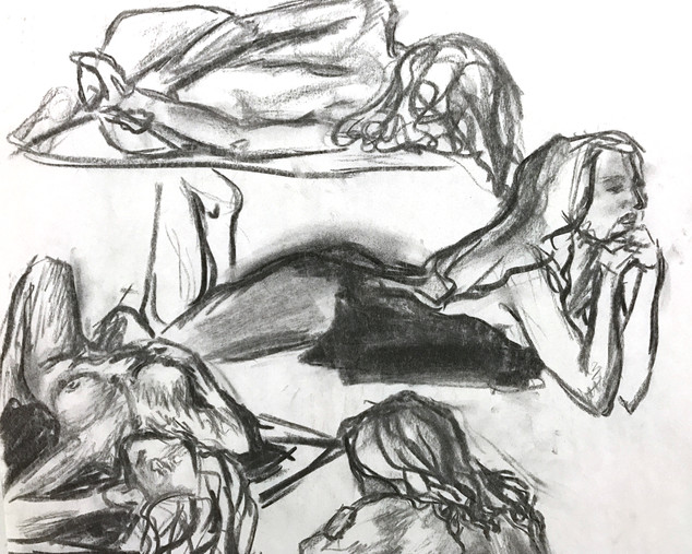 Life Drawings - 5 minutes