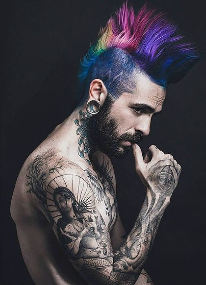 Mens Fashion Hair Color Experts